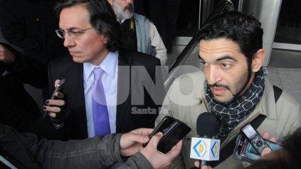 José. El hijo de Luisa Pratto y Rubén Maulín, llegó desde Reconquista para presenciar el juicio contra sus apropiadoras.
