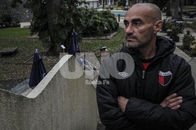 El entrenador uruguayo recibió a Ovación en el Hotel de Campo, donde por el momento está viviendo junto al resto de su cuerpo técnico