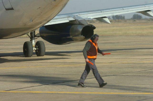 <div>Los trabajos que se realizarán en el aeropuerto dotarán de un nuevo balizamiento e iluminación</div>