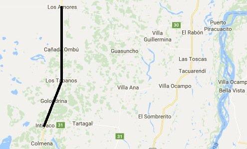 Ruta provincial 3. Es la única vía de comunicación que tienen pequeños pueblos del norte provincial con Intiyaco, localidad en la cual comienza la parte asfaltada. Son aproximadamente 70 km. Se abrieron los sobres para comenzar con la obra de asfaltado.