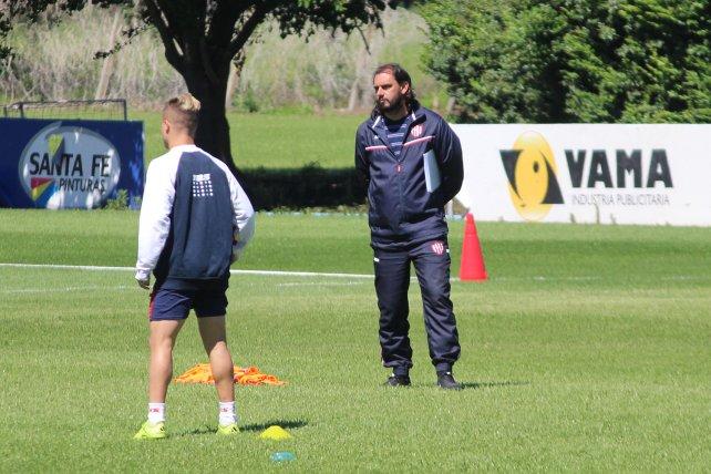 Patita, el ayudante. Así como sucedió en la Reserva, Martín Mazzoni será el asistente técnico de Juan Pablo Pumpido.