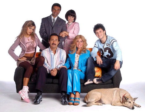 """Francella y Lopilato trabajaron juntos en la serie """"Casados con hijos"""""""