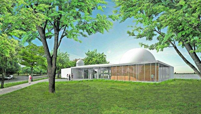 Fachada. Los planos muestran una estructura renovada y moderna para las instalaciones del Code.