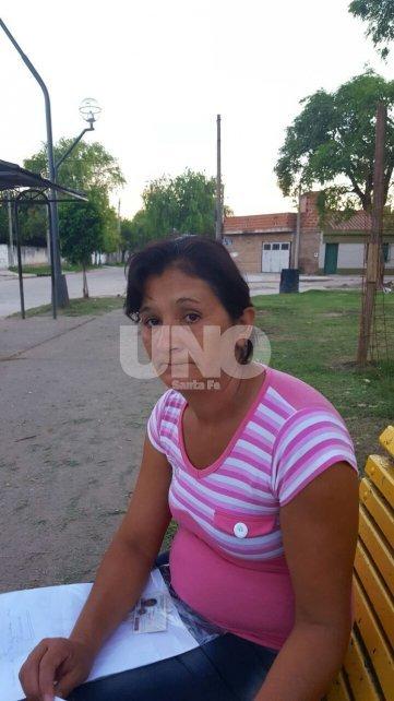 Estela Beatriz Machado, madre de la joven desaparecida