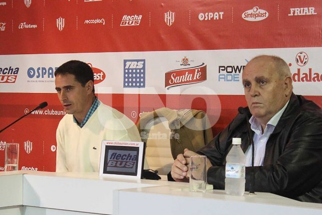 Martín Zucarelli y Lus Spahn.
