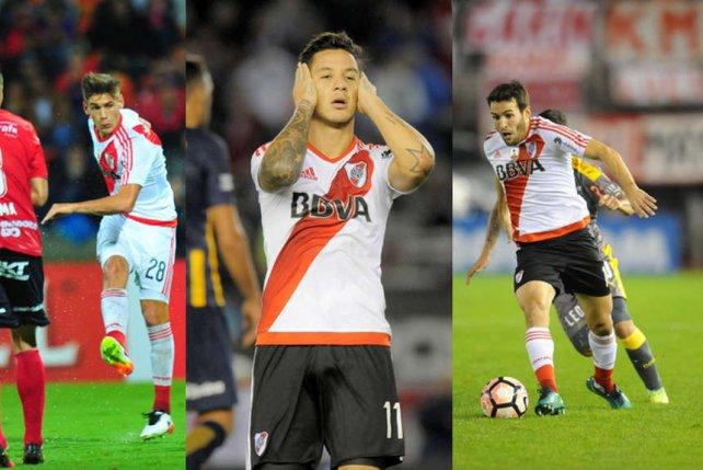 River: doping de Mayada y suspensión provisoria a Martínez Quarta