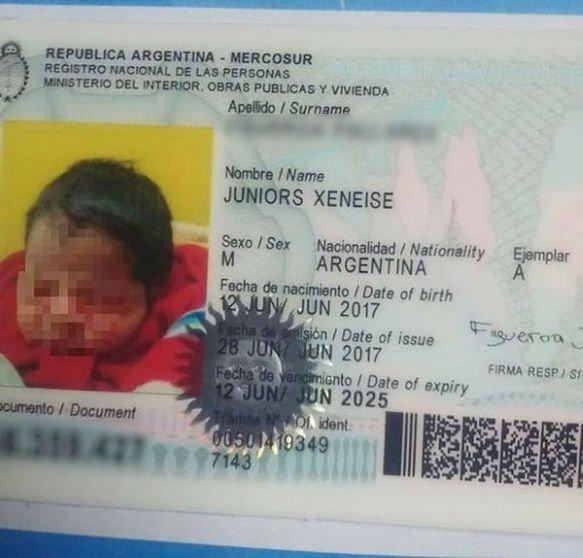 ¿Fanáticos? Registraron a su hijo con el nombre de Juniors Xeneise