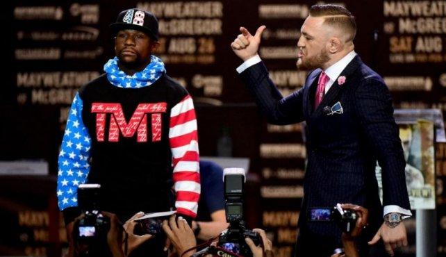 Mayweather y McGregor en problemas con venta de boletería
