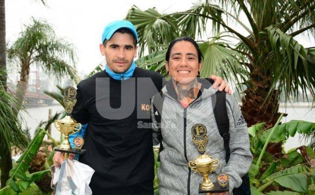 Gastón Ramallo y Andrea Lazzarini