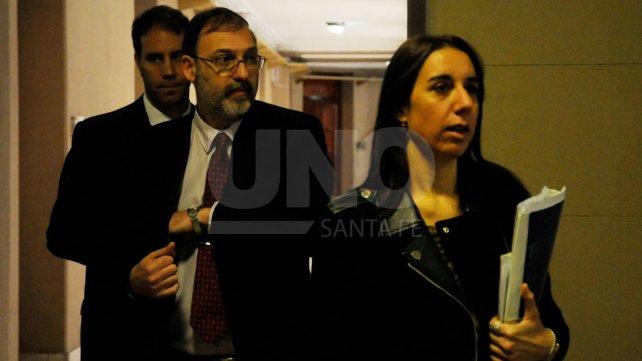 Los fiscales del caso, Jorge Nessier y Cristina Ferraro