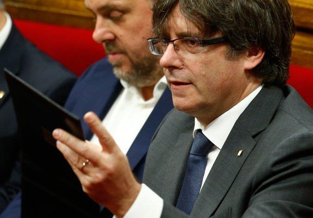 <div>Carles Puigdemont, presidente regional de Cataluña.</div><div><br></div><div></div>