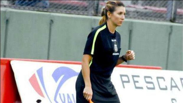 Gisela Trucco, primera mujer asistente en Primera División